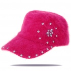 Trendy Baseball Hat/Cap - Rose Red