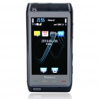 "N8+ 3.0"" Touch Screen Dual SIM Dual Network Standby Quadband GSM TV Cell Phone w/ FM - Black"