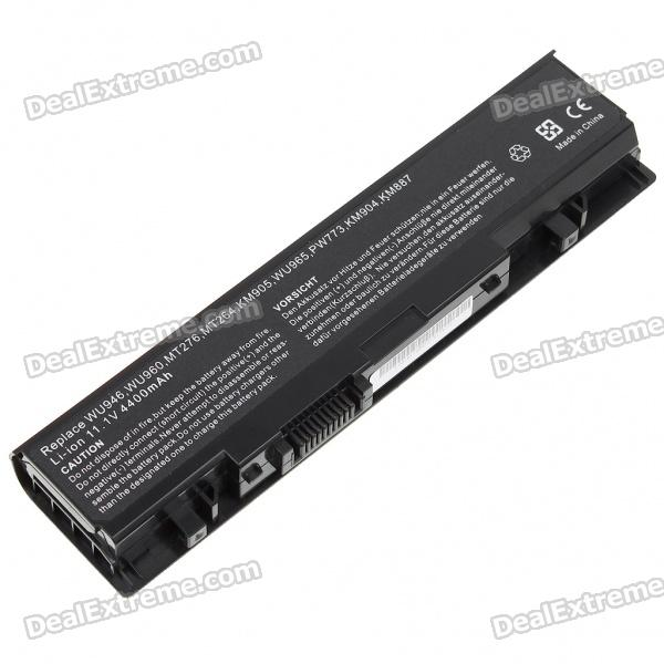 4400mAh Replacement Lithium Battery for Dell WU946/WU960/MT276/KM905/WU965 Series Laptop (11.1V)