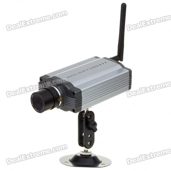 300KP WIFI Network Internet Surveillance Wireless IP CCTV Camera with RJ45/Motion-Detection
