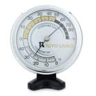 Battery-Free Indoor Wall Thermometer and Hygrometer/Humidity