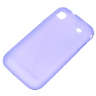 Protective PVC Backside Case for Samsung i9000 Galaxy S - Purple