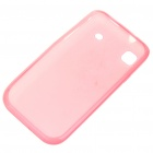Protective PVC Backside Case for Samsung i9000 Galaxy S - Pink