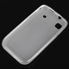 Protective PVC Backside Case for Samsung i9000 Galaxy S - Translucent White