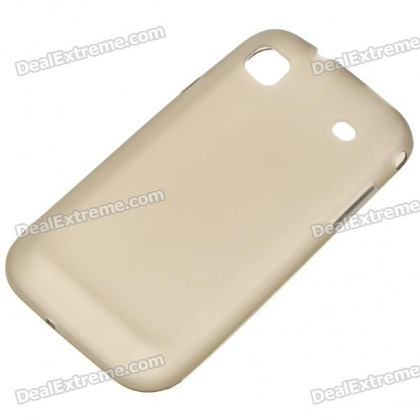 Protective PVC Backside Case for Samsung i9000 Galaxy S - Grey 3020 cnc router engraving machine cover plates pcb s pvc milling easy operation