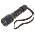 Romisen RC-39 CREE Q5-WC 5-Mode 190-Lumen Memory Convex Lens LED Flashlight with Strap (1*18650)