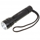 UltraFire 128A 3-Mode 160-Lumen Convex Lens LED Flashlight w/ CREE Q4 WC / Strap (1*18650)