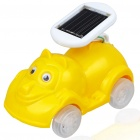 Cute Cartoon Animal Solar Powered Car Toy