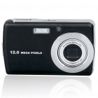 "12.0mp CCD Compact Digital Video Camera w / mit optischem 3fach-Zoom / SD Slot / TV-OUT (3,0 ""TFT LCD)"