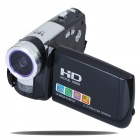5.0MP CMOS 720P HD Digital Video Camcorder w/ 16X Digital Zoom/USB/AV/SD - Black (3.0
