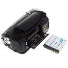 "5.0MP CMOS 720P HD Digital Video Camcorder w/ 16X Digital Zoom/USB/AV/SD - Black (3.0"" LCD)"