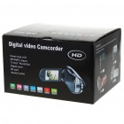 5.0MP CMOS Digital Video Camcorder w/ 4X Digital Zoom/USB/AV/SD - Red (2.4&quot; TFT LCD)