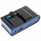 Universal Cell Phone Lithium Battery Charger with USB Power Port for GALAXY S4 / i9500 + More (220V)