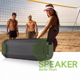 Mini Portable Wireless Bluetooth Column Speaker Outdoor Waterproof Super Bass Bluetooth Speaker For Mobile Phones Black/Speaker