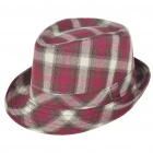 Fashion Grids Retro Cotton Cap/Hat (Size 56~59 cm)