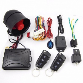 CA703-8118 One Way Remote Control Siren Sensor Car Burglar Alarm Systems Central Door Locking Security Key