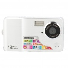 "5.0MP CMOS Compact Digital Video Camera with 4X Digital Zoom/USB/SD/AV-Out Slot (2.7"" TFT LCD)"