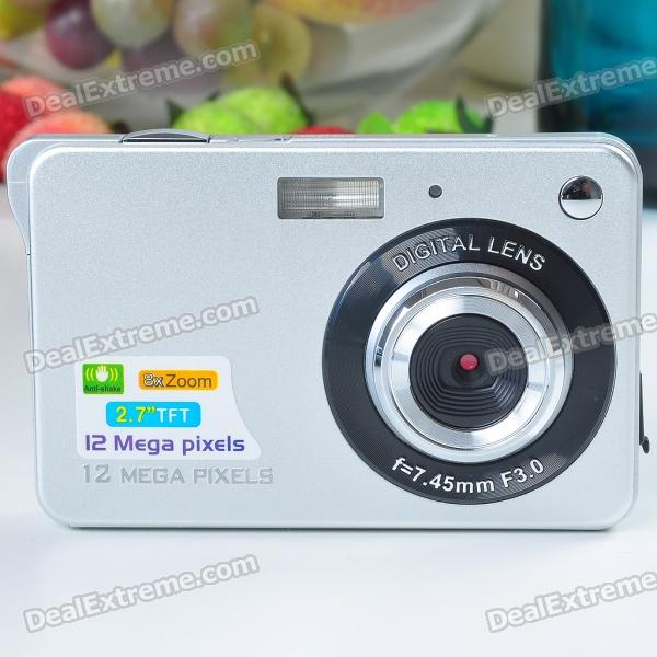 5.0MP CMOS Compact Digital Video Camera with 4X Digital Zoom/USB/SD (2.7