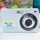 "5.0MP CMOS Compact Digital Video Camera with 4X Digital Zoom/USB/SD (2.7"" TFT LCD)"