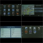 "7.0"" Touch Screen LCD Win CE NET 5.0 GPS Navigator w/ Bluetooth/FM/AV In + 4GB Europe Maps TF Card"