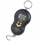 "1.5"" LCD Precision Portable Digital Weighting Hook Scale with Thermometer (40kg Max)"