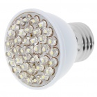 E27 38-LED White LED Light Bulb (100-240V)