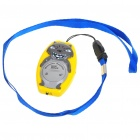 Wolf Shaped Ultrasonic Mosquito Repeller with Neck Loop & Hand Strap - Yellow + Grey (1*CR2032)