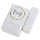 Window and Door Magnetic Sensor Anti-Theft Security Alarm Set (3*LR44)