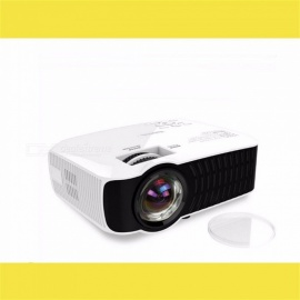 Projector H35 Portable Projector LED Home Cinema 1000 Lumens 20-300 Inches Bluetooth Projector white