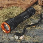 Romisen RC-C8 CREE Q5-WC 3-Mode 210-Lumen Convex Lens LED Flashlight (1*18650/2*CR123A/3*AAA)