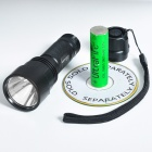 Romisen RC-U8 CREE XP-ER5 3-Mode 350-Lumen LED Flashlight (1*18650/2*CR123A/3*AAA)