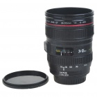 Unique Plastic Simulation Dummy Canon Zoom Lens Coffee Mug Cup (350ml)