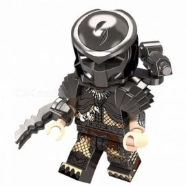 PG1127 Super Heroes The Movie Series Predator Hatsune Miku Bricks Building Blocks Best Collection Christmas Toys Black