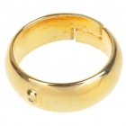 Elegant Copper Alloy Ring - Gold (5#)