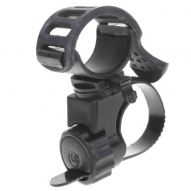 Mount Holder Clip Clamp for Bicycle Bike LED Light Flashlight - Black