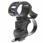 Mount Holder Clip Clamp for Bicycle Bike LED Light Lamp Flashlight - Black