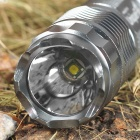 UniqueFire G10 CREE XP E R5 1-Mode 350-Lumen White LED Flashlight with Strap (1*14500/1*AA)