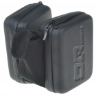 QQ SPORTS Waterproof EVA Bike Handlebar Top-tube Bag - Black
