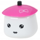 Girl Style USB Humidifier Aroma Diffuser - Pink + White