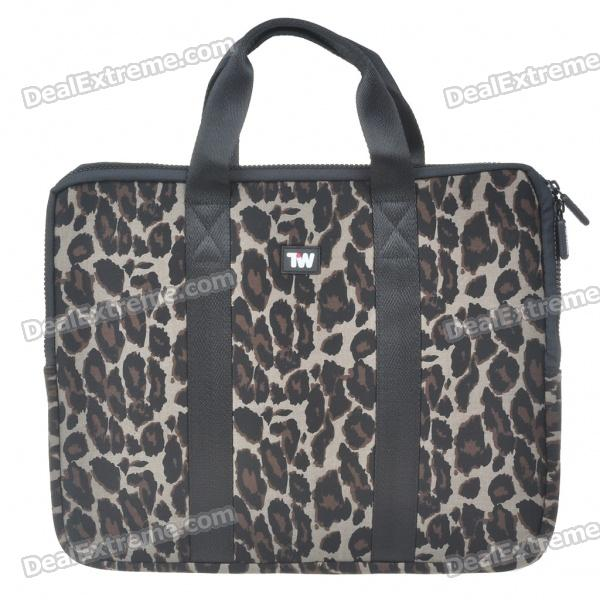 все цены на Stylish Leopard Protective Soft Carrying Bag with Zipped Close for 14