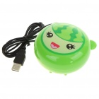 2-in-1 Compact USB Powered Vibrating Massager + Hand Warmer - Water Melon Style (100CM-Length)