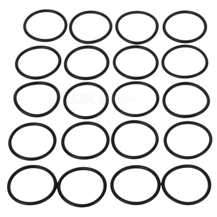 Water-tight O-Ring Seal (16mm 20-Pack)