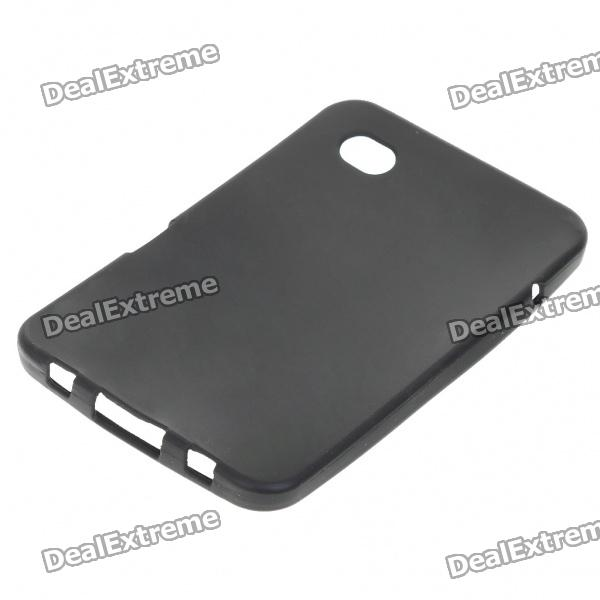 Protective Silicone Case for Samsung Galaxy P1000 (Black)
