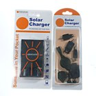 Solar Powered USB and Cell Phone Charger with Li-Ion Battery (0.85W 1300mAh)
