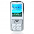 "M9+ 2.2"" LCD Dual SIM Dual Network Standby Dualband GSM Cell Phone w/ FM + Flashlight - White"