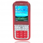 "M9+ 2.2"" LCD Dual SIM Dual Network Standby Dualband GSM Cell Phone w/ FM + Flashlight - Red"