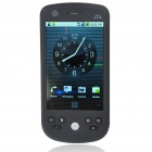"H6 3,2 ""Touch Screen Android 2.2.1 Dual SIM Quadband GSM PDA Handy TV w / Wi-Fi / AGPS - Black"