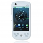 "H6 3.2"" Touch Screen Android 2.2.1 Dual SIM Quadband PDA GSM TV Cell Phone w/Wi-Fi/AGPS - White"
