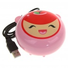 2-in-1 Compact USB Powered Vibrating Massager + Hand Warmer - Apple Style (100CM-Length)