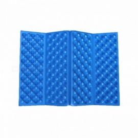 Outdoor Camping Foldable Moistureproof Pad Sitting Mat - Blue